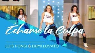 Échame La Culpa - Luis Fonsi - Demi Lovato - Easy Fitness Dance Choreography - Baile - Coreografia
