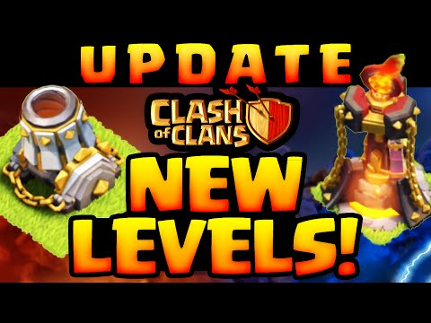 Clash of Clans UPDATE Sneak Peek - NEW Inferno Tower and Mortar Levels and MORE!