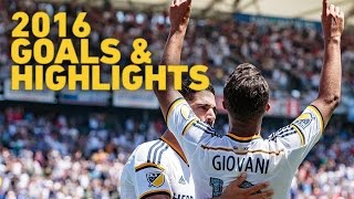 Giovani dos Santos 2016 MLS Goals Highlights