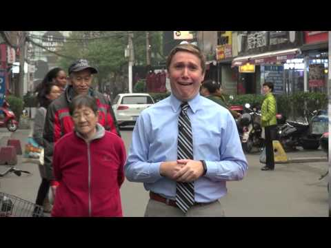 Reporter Freaked Out By Traffic In Beijing