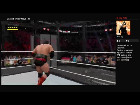 WWE 2k17 WCW World Heavyweight Title Match