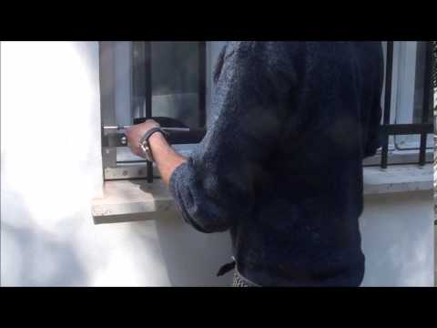 Video Tutorial Metal One Safety Railing For Windows