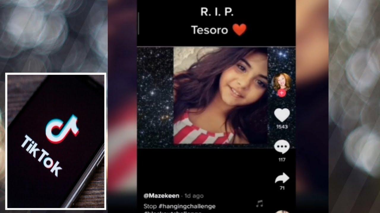 10 Year Old Girl Dies After Tiktok Blackout Challenge Blackout Challenge Youtube