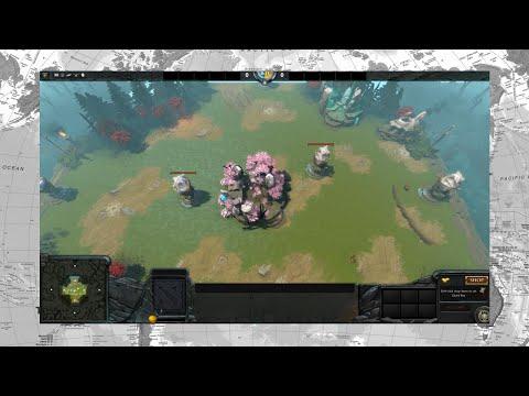 видео: dota 2 reborn. Пользовательские игры - survival co-op!