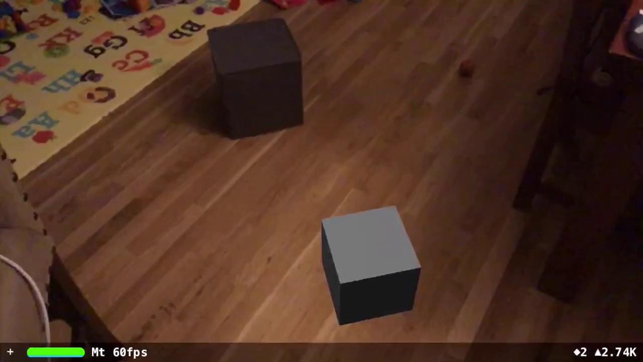 More ARKit demos: Falcon 9 rocket landing, Van Gogh bedroom