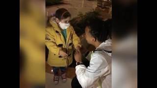 ozuna le cumple el sueño a un niño de chile cantando tu foto
