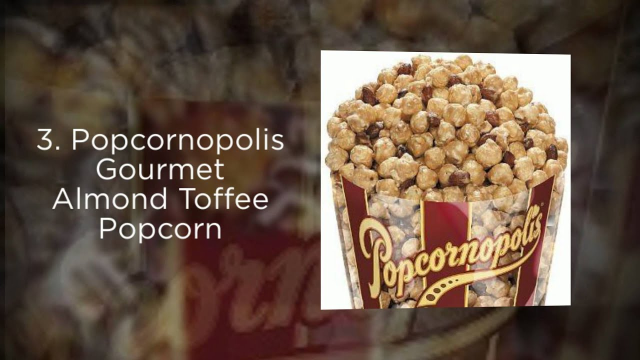 Best Gourmet Caramel Popcorn 2015 - Top 5 List