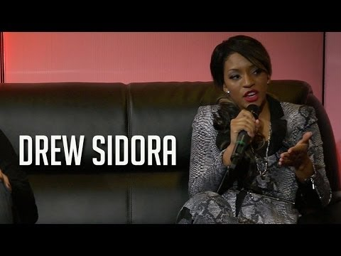 Drew Sidora talks playing TBoz in the new TLC movie