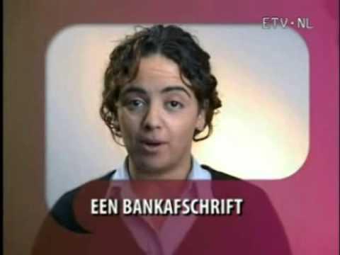 een eigen bankrekening
