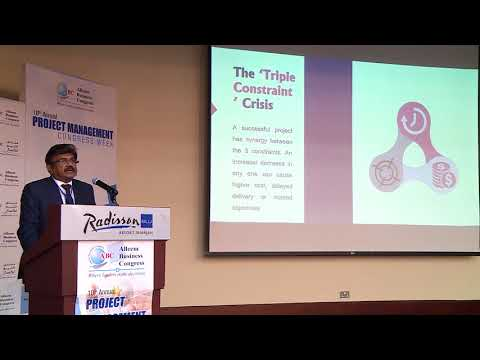 Mr. Lalu Samuel at 10th Annual Project Management Congress
