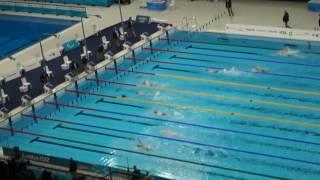 Natación Paralímpicos 2012 - S5