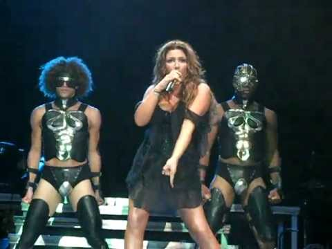Helena Paparizou - Dancing Without Music (Ofrynio Beach, Summer tour 31/7/2010)