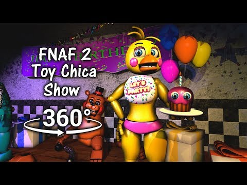 360°| Toy Chica testing show 1987 [FNAF/SFM] (VR Compatible)