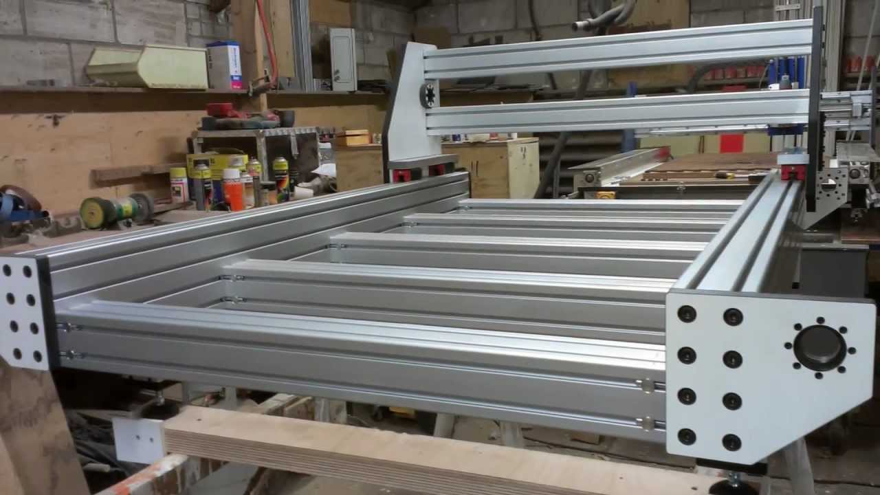 Second DIY CnC Router Part-1 - YouTube