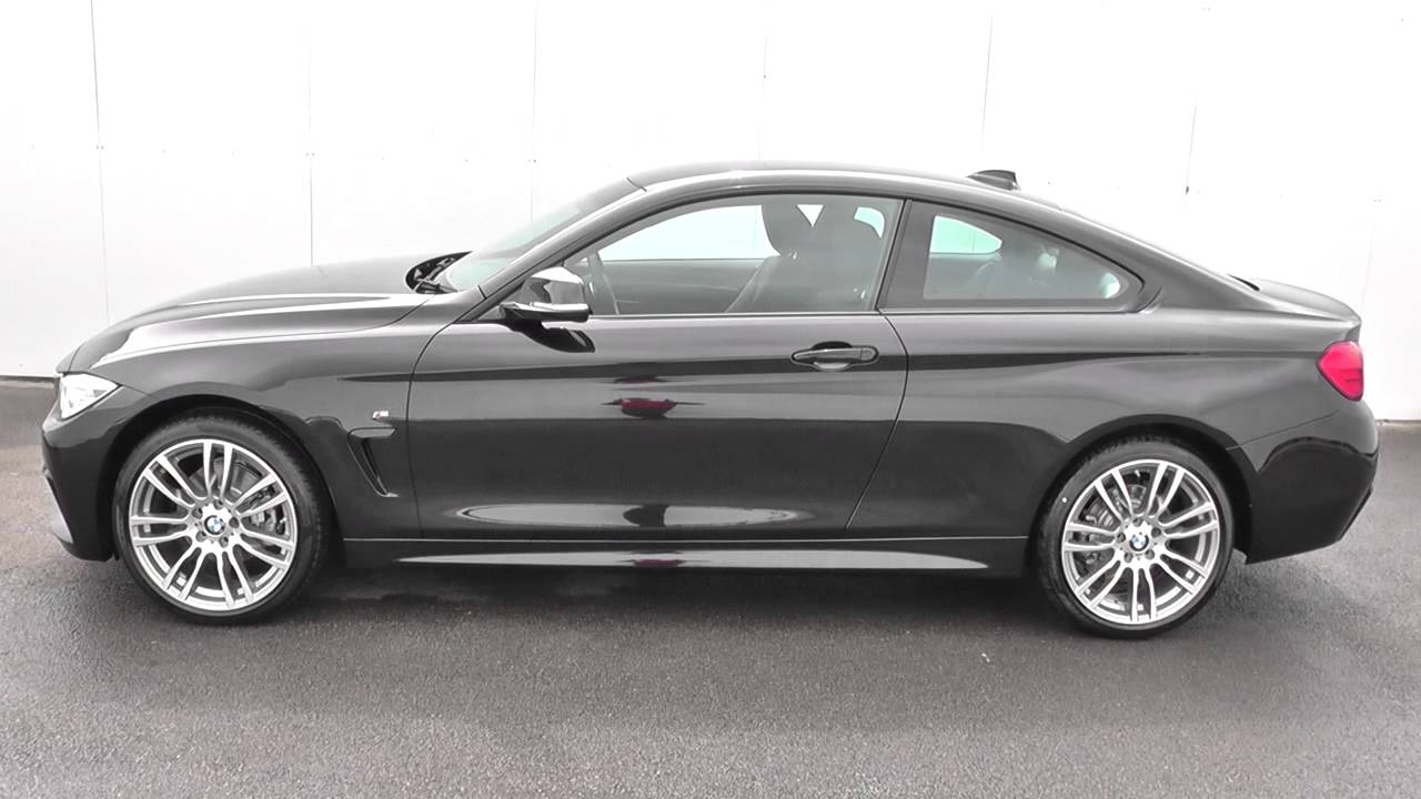 bmw 4 series 420d xdrive m sport 2dr auto u13375 youtube. Black Bedroom Furniture Sets. Home Design Ideas