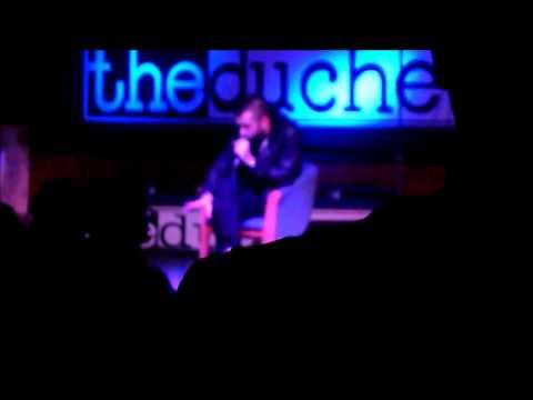 Scroobius Pip - 5 Minutes - live 03/12/12 York
