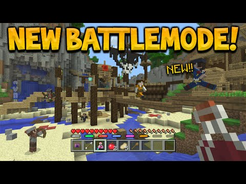 Minecraft Xbox 360/PS3 - BATTLE MODE! Confirmed Coming Next Month Everything To Know!(BattleMode)