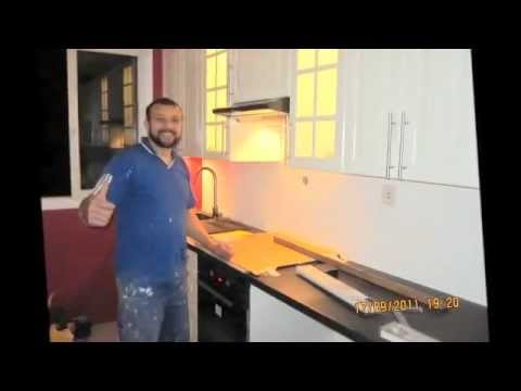 travaux transformation cuisine de a z youtube. Black Bedroom Furniture Sets. Home Design Ideas