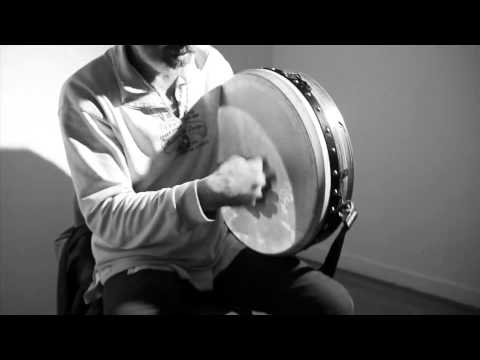How to play Bodhran: 1. Basic Stroke: Rónán Ó Snodaigh