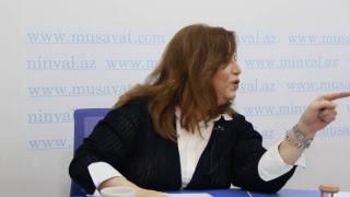 İqtidar-müxalifət dartışması - sabiq deputat Gülər Əhmədova ilə VİP sədri Əli Əliyev qarşı-qarşıya