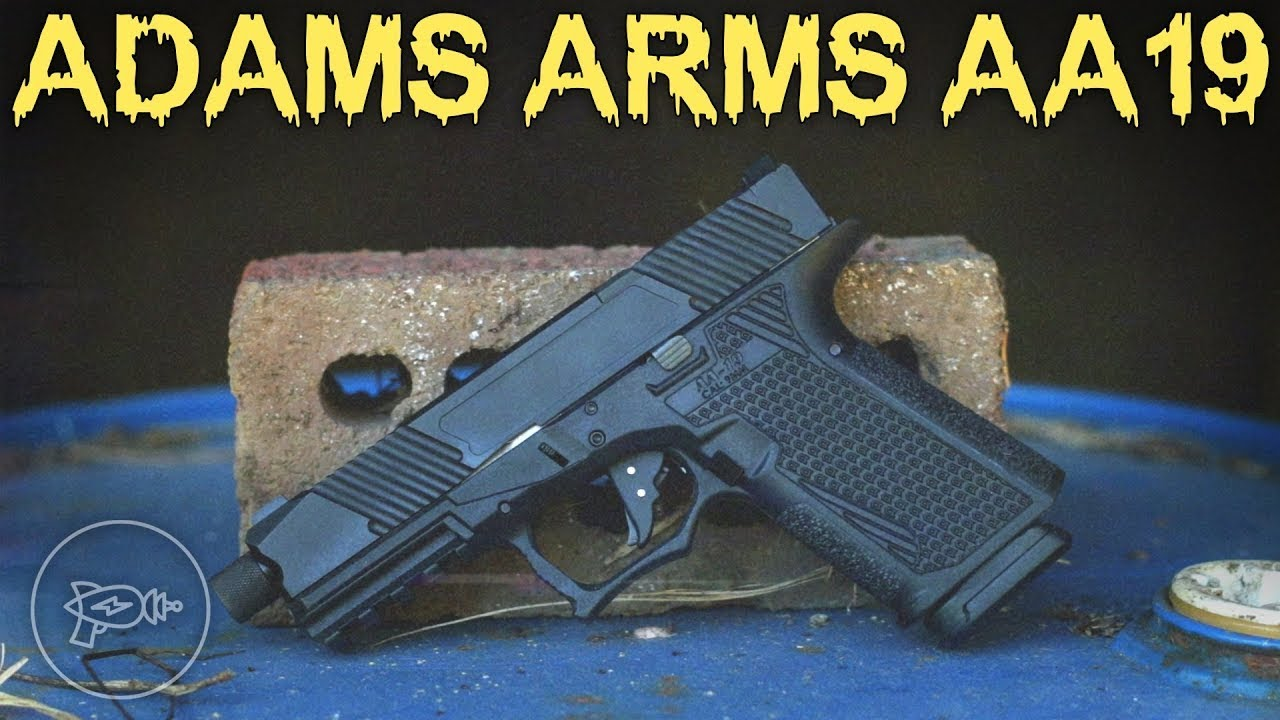 Another Glock Clone or Something More? Adams Arms AA19! [Review]