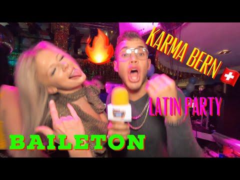Baileton in Karma Club Bern🇨🇭 latin party in Switzerland