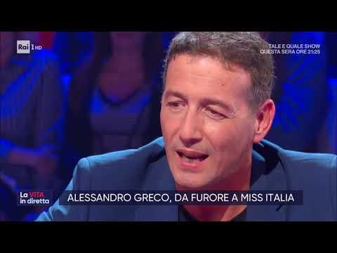 Lezioni Di (Alessandro) Greco - La Vita In Diretta 11/10/2019