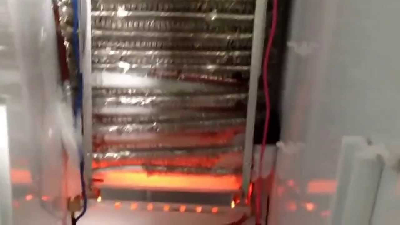 Ge Refrigerator Defrost Operation Youtube