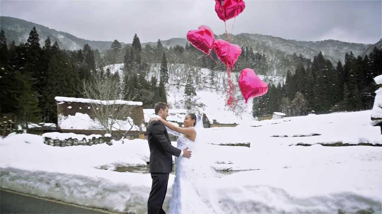 Japan Snow Wedding