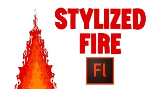 Animate Stylize Fire with Flash