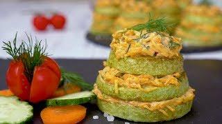 Как приготовить закуску из кабачков - Рецепты от Со Вкусом