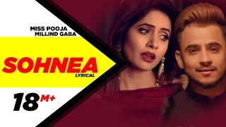Sohnea ( Lyrical Video ) | Miss Pooja Feat. Millind Gaba | Punjabi Songs | Speed Records