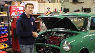 Dwight Smith's Sleaper Supercharged Classic Mini Cooper