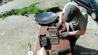 сковорода из диска культиватора, своими руками