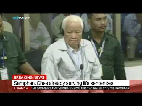 Cambodia's Samphan, Chea sentenced to life in prison