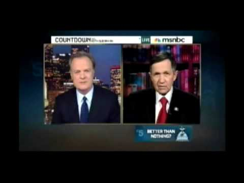 Congressman Kucinich Slams Obama & Healthcare Bill