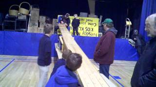 Pinewood Derby 2011 (Round 1, Race 3)