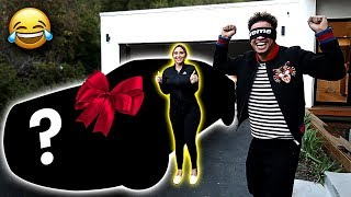 SURPRISING AUSTIN WITH BRAND NEW CAR!!!...