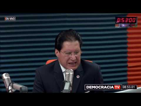Washington Pesántez en Radio Exa Democracia