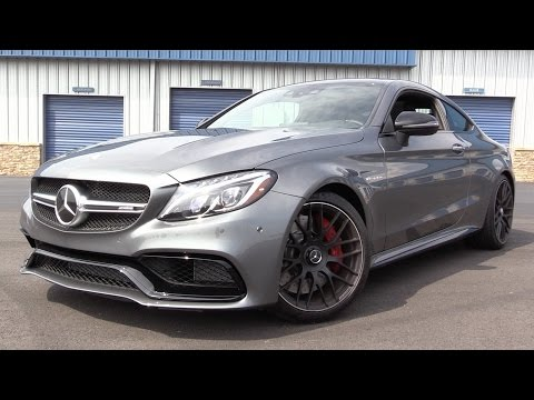 2017 Mercedes-AMG C63 S Coupe - Start Up, Road Test & In Depth Review