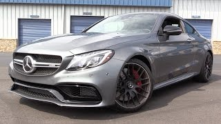 Mercedes-Benz C63 AMG Coupe 2017 Videos