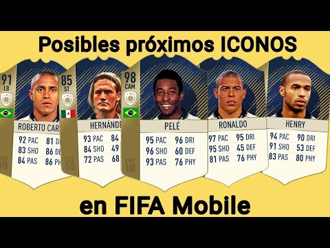 Posibles proximos ICONOS en FIFA Mobile - FIFA Mobile