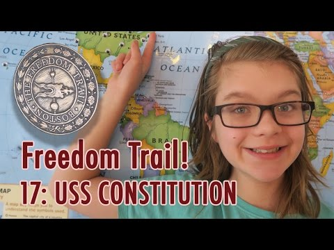 BiteSized History - Boston Freedom Trail Stop 17! USS Constitution | BiteSizedEDU
