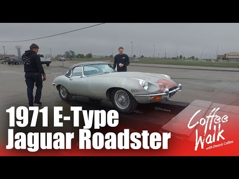 Coffee Walk Ep.21: BARN FIND! 1971 E-Type Jaguar Roadster in mint condition
