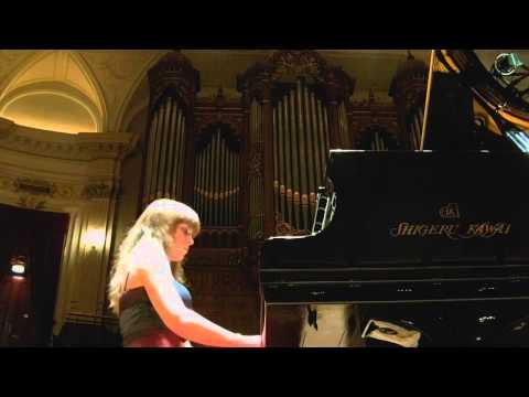 Anna Fedorova,  Chopin etude Op.25 nr.12 Ocean live Amsterdam Concertgebouw