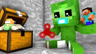 Baby Zombie Life - Craftronix Minecraft Animation