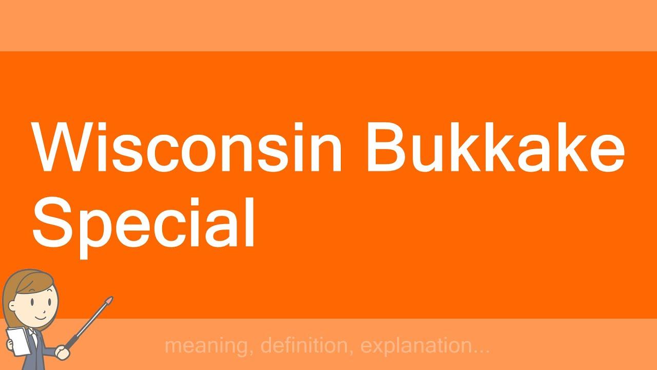 Bukkake definition