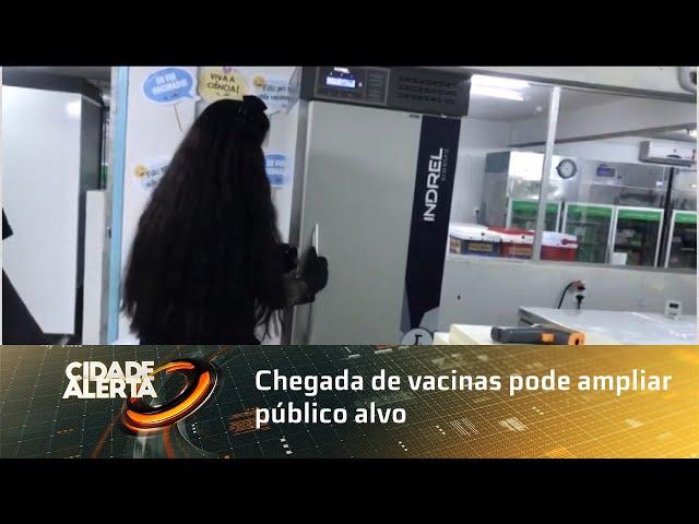 Chegada de vacinas pode ampliar público alvo da imunização em Alagoas