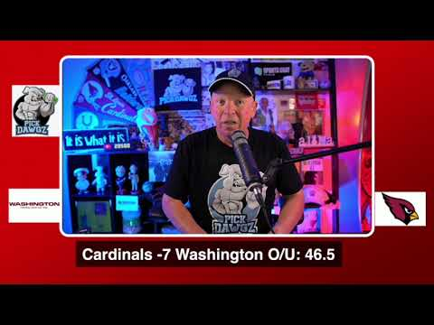 Arizona Cardinals vs Washington Football Team NFL Pick and Prediction 9/20/20 Week 2 NFL Betting Tip