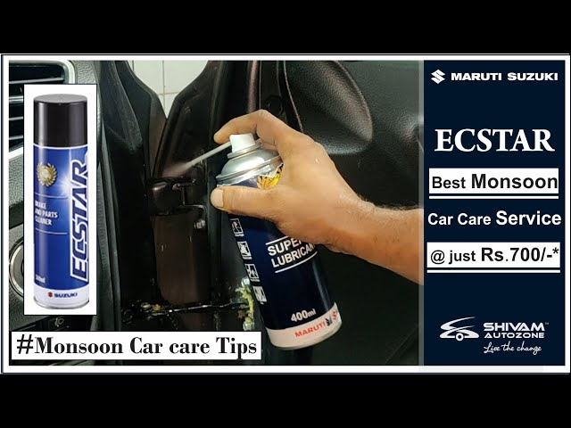 Monsoon Car Care Service Tips | NEXA | Maruti Suzuki